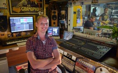 Abbey Roden met producer Andre van der Weide